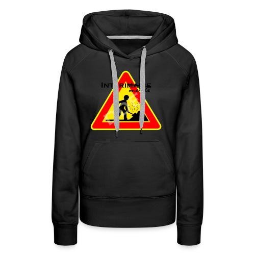 DDE - Sweat-shirt à capuche Premium pour femmes