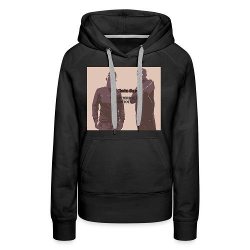 mig3 perfil - Sweat-shirt à capuche Premium pour femmes