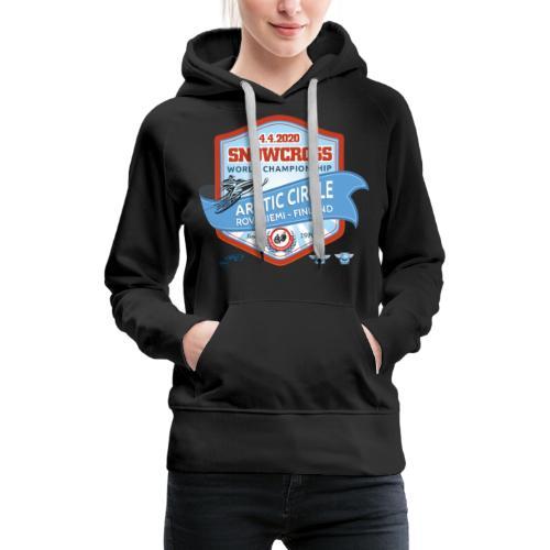MM Snowcross 2020 virallinen fanituote - Naisten premium-huppari