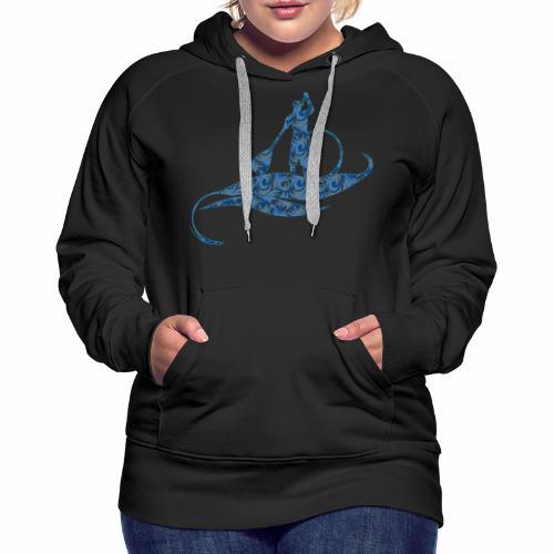 Blue Ocean - Sweat-shirt à capuche Premium pour femmes