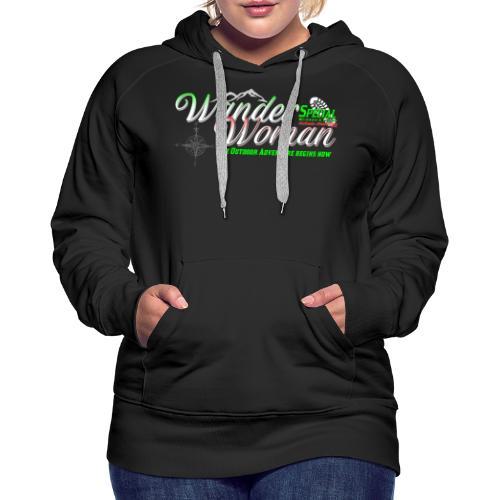 Special Edition Wander Woman Wandern Geschenk - Frauen Premium Hoodie