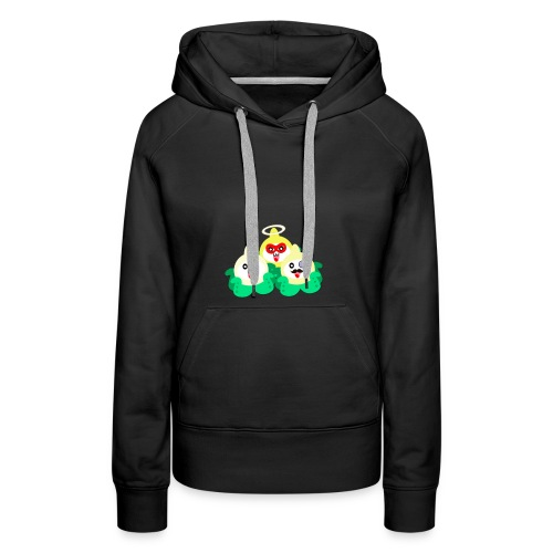 TrioPACH png - Sweat-shirt à capuche Premium pour femmes