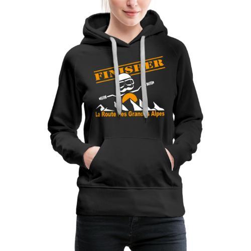 Finisher motofree - Sweat-shirt à capuche Premium pour femmes