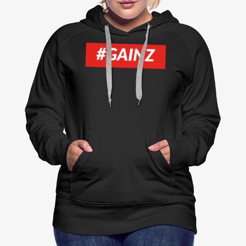 Gainz by Simon Mathis - Frauen Premium Hoodie