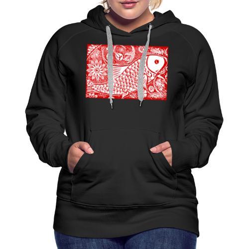 Fish in the sea - Vrouwen Premium hoodie