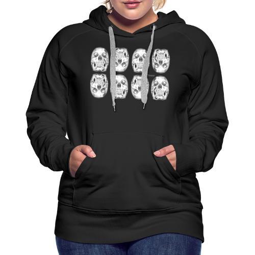 Chrome Skulls - Women's Premium Hoodie