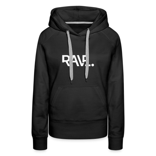 RAVE ClothingWhiteLogo - Women's Premium Hoodie