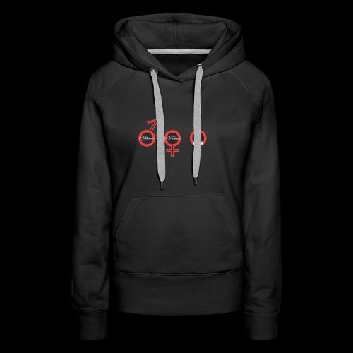 Geek - Sweat-shirt à capuche Premium pour femmes