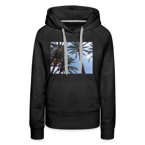 Palmendesign - Frauen Premium Hoodie