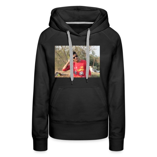 IN SIDDIPET MODEL NAZEER SMART ACTER - Women's Premium Hoodie