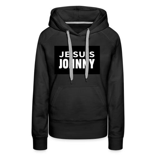Je suis Johnny - Sweat-shirt à capuche Premium pour femmes