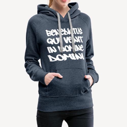 BENEDICTUS QUI VENIT - Women's Premium Hoodie