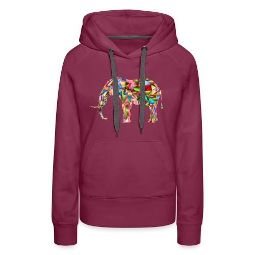 Gestandener Elefant - Frauen Premium Hoodie