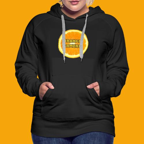 Orange_Logo_Black - Women's Premium Hoodie