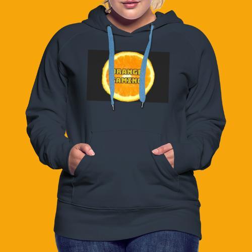 Orange_Logo_Black - Women's Premium Hoodie