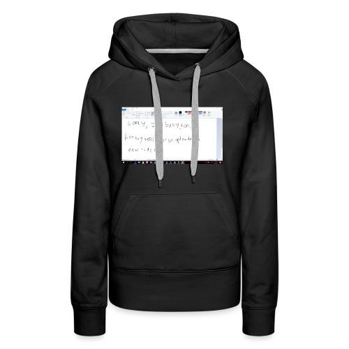 Schermopname 1 - Vrouwen Premium hoodie