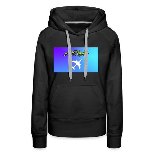 Knuffelbeer Met Logo - Vrouwen Premium hoodie