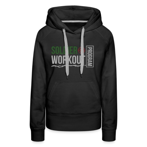 Soldier Workout Program - Premiumluvtröja dam