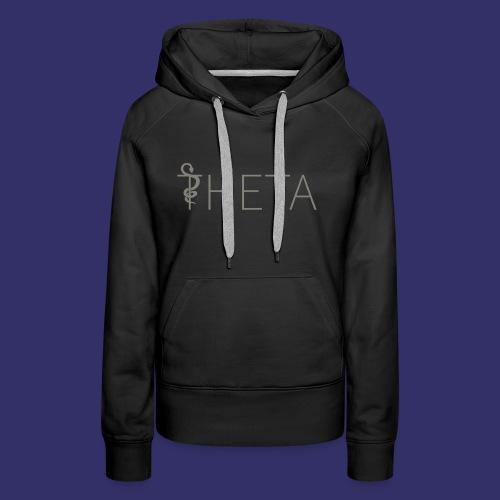Grey and black - Women's Premium Hoodie