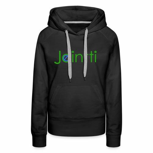 eJointti.com Logo - Naisten premium-huppari