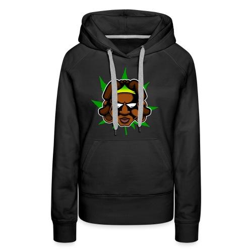 logo roots - Sweat-shirt à capuche Premium pour femmes