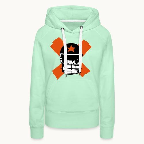 Motard Micky Biker - Sweat-shirt à capuche Premium pour femmes