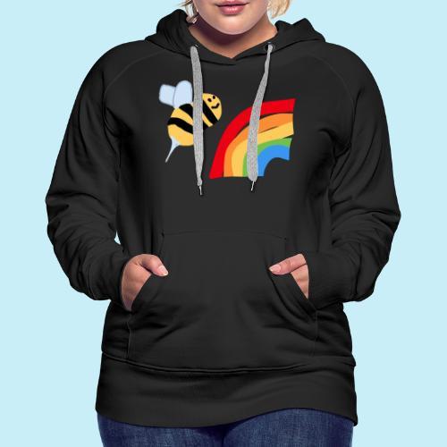 BEe Gay - Sweat-shirt à capuche Premium pour femmes