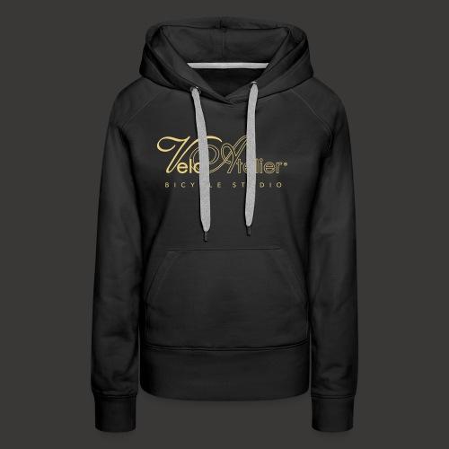 Velo Atelier Logo - Women's Premium Hoodie