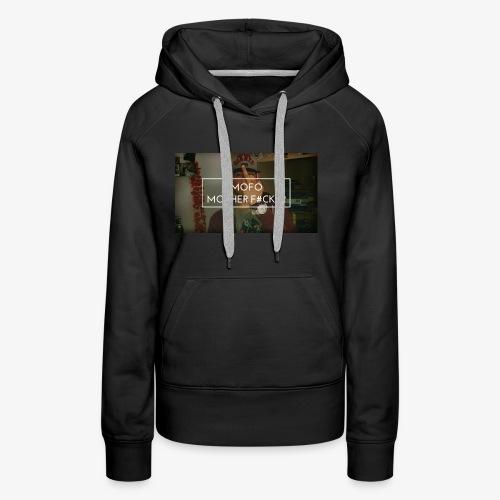 Finger up - Vrouwen Premium hoodie