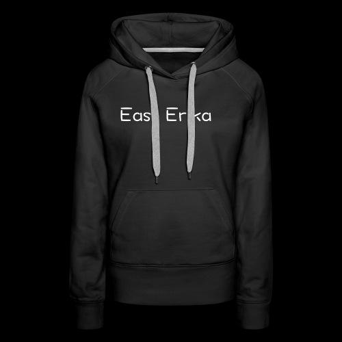 East Erika logo - Felpa con cappuccio premium da donna