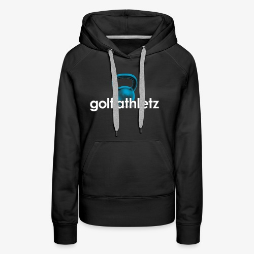 GOLF ATHLETZ - Kettlebell Trainings Sport Motiv - Frauen Premium Hoodie