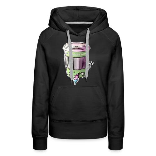 Zombie Coffee - Frauen Premium Hoodie