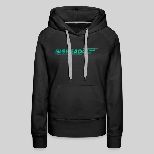 BigHead Clothes Exclu Street - Sweat-shirt à capuche Premium pour femmes