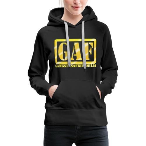 GAF - Sudadera con capucha premium para mujer