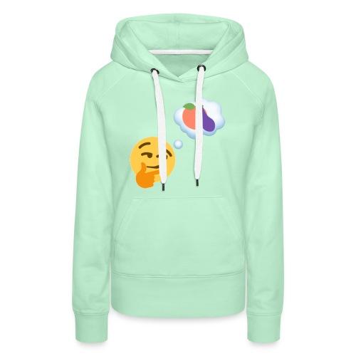 Johtaja98 Emoji - Naisten premium-huppari