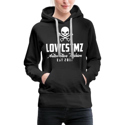 LOWCSTMZ Black Flat - Frauen Premium Hoodie