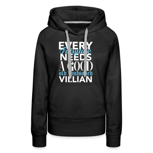 Moriarty - Villain - Women's Premium Hoodie
