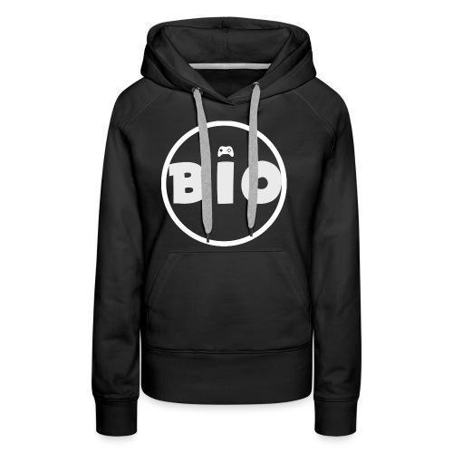 WHITE LOGO - Vrouwen Premium hoodie