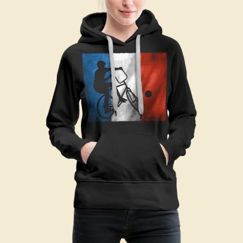Radball | Flagge Frankreich - Frauen Premium Hoodie