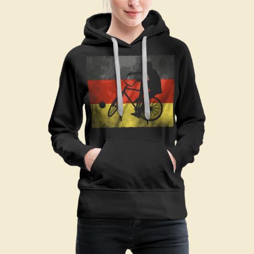 Radball | Flagge Deutschland - Frauen Premium Hoodie