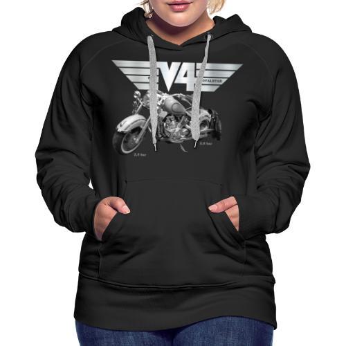 Royal Star silver Wings - Frauen Premium Hoodie
