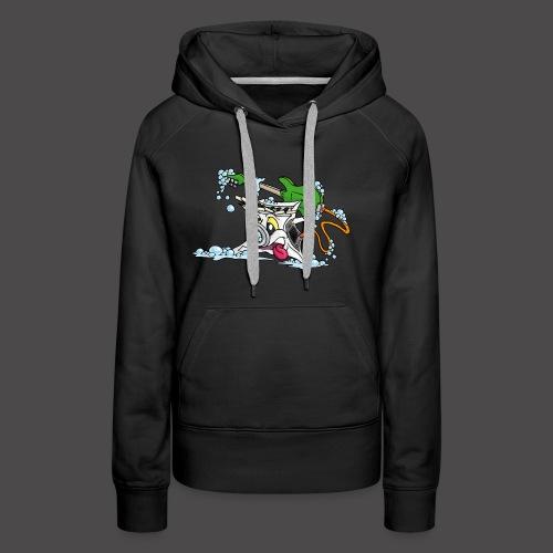 Wicked Washing Machine Wasmachine - Vrouwen Premium hoodie