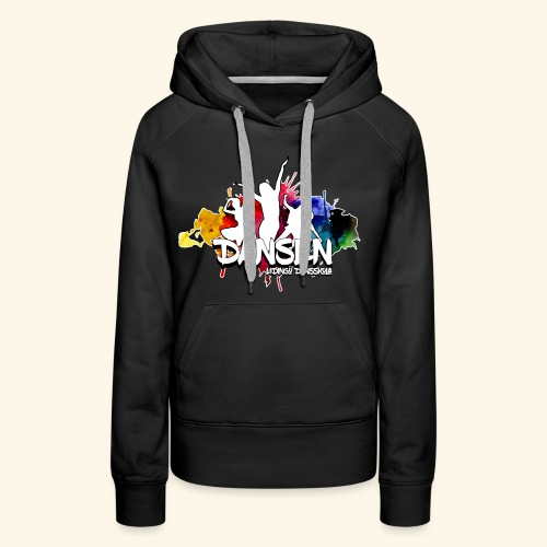 Dansen ColorSplash - Premiumluvtröja dam