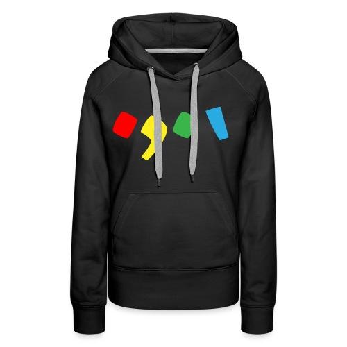 Tjien Logo Design - Accents - Vrouwen Premium hoodie