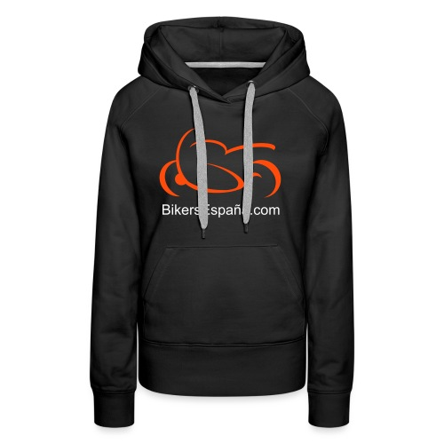 sportsbike with text - Women's Premium Hoodie