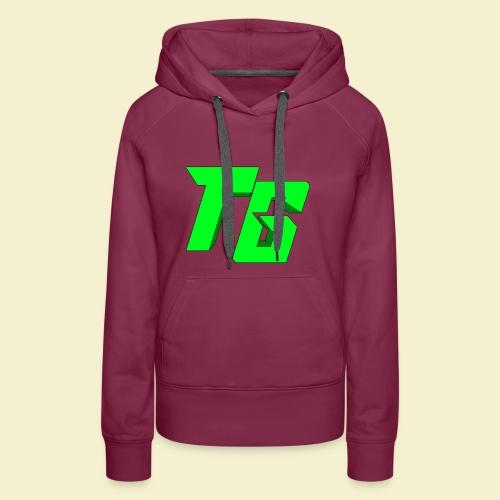 TristanGames logo merchandise [GROOT LOGO] - Vrouwen Premium hoodie
