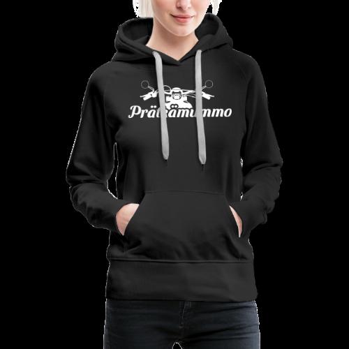 Prätkämummo - Naisten premium-huppari