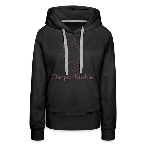 Logo_Dampfermädels - Frauen Premium Hoodie