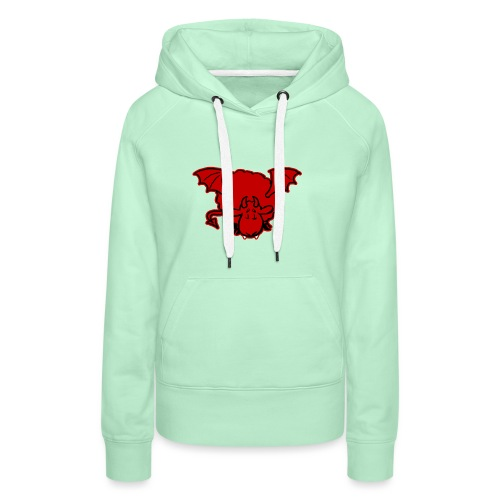 Devil Sheep - Sweat-shirt à capuche Premium pour femmes