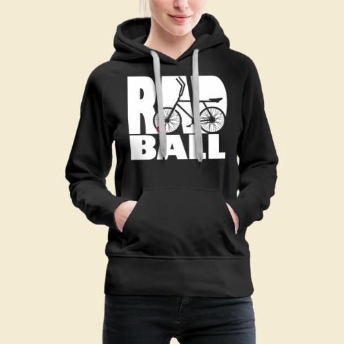 Radball | Typo - Frauen Premium Hoodie